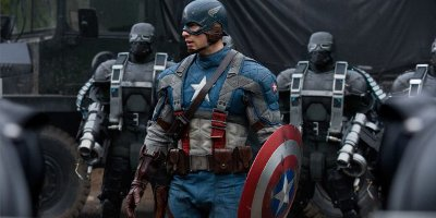 Captain America Played By Chris Evans