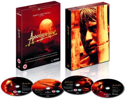 Apocalypse Now Front Cover And Four Discs