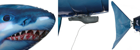 flying shark air swimmer