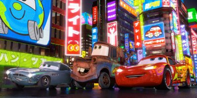 Finn McMissile, Mater And Lightening McQueen