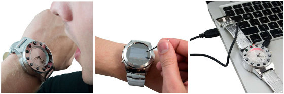 Burg 5 Retro Mobile Phone Watch