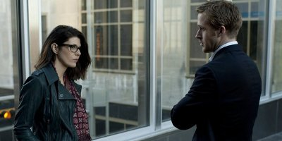 Ryan Gosling and Marisa Tomei in the Ides of March