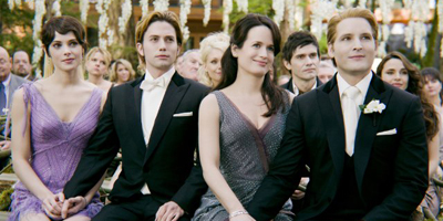 Cullen Family At Wedding