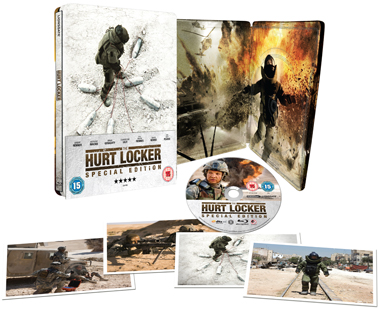 The Hurt Locker Steelbook Exploded Packshot