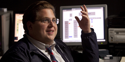 Jonah Hill Hand Up