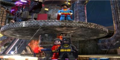 Batman, Robin and Superman