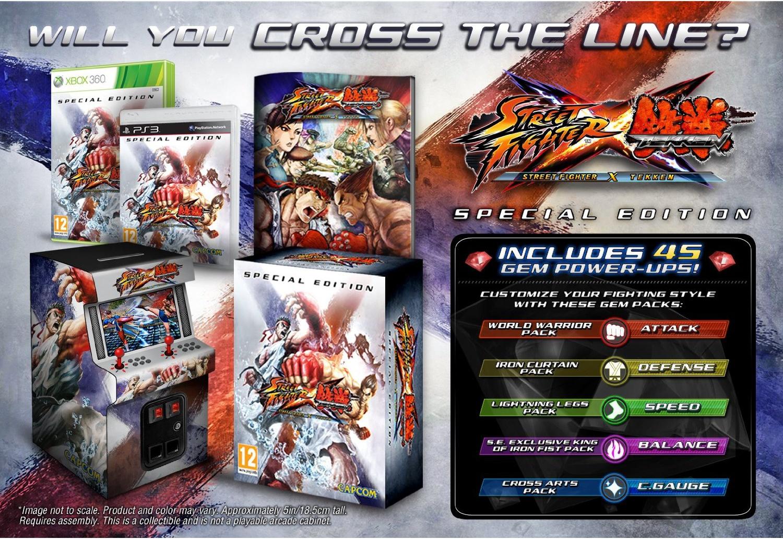 Street Fighter X Tekken: Special Edition PS3   Zavvi España
