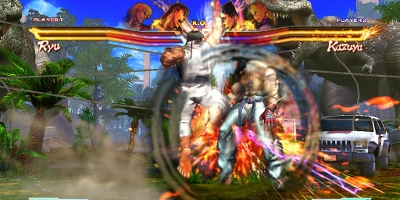 Ryu uppercut