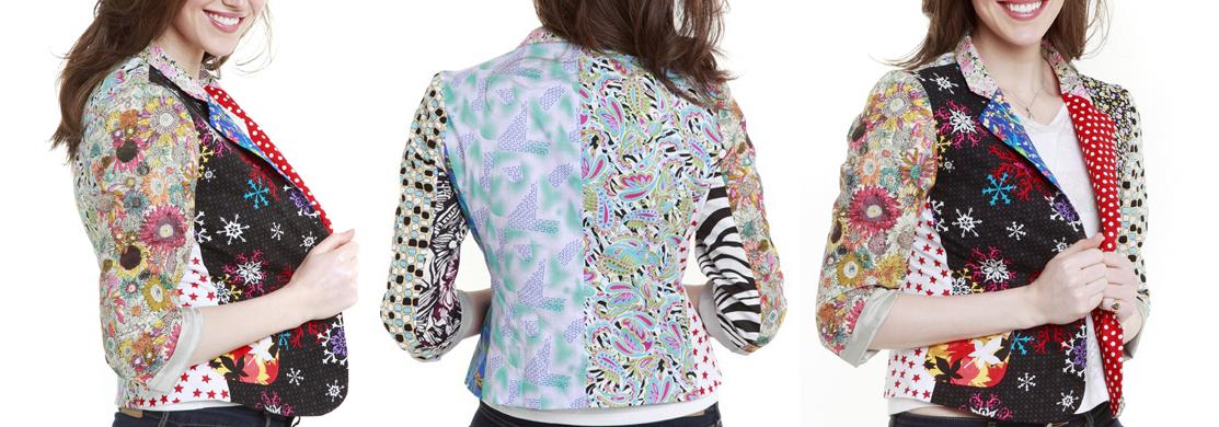 Foul Fashion Womens Blazer
