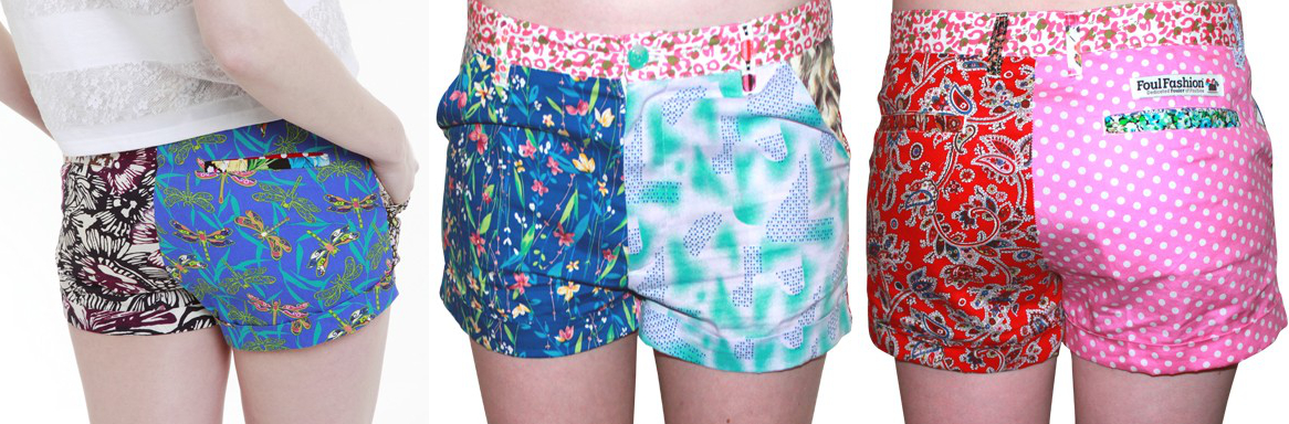 Foul Fashion Womens Shorts