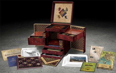 Harry Potter Wizard's Box Set Exploded Packshot