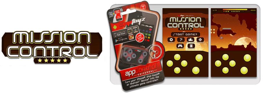 AppToyz AppArcade Controller Mission Control Game