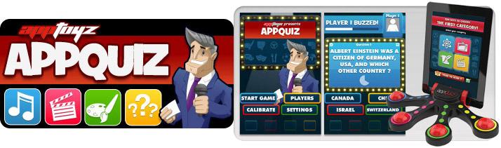 AppToyz AppQuiz Interactive iOS Quiz