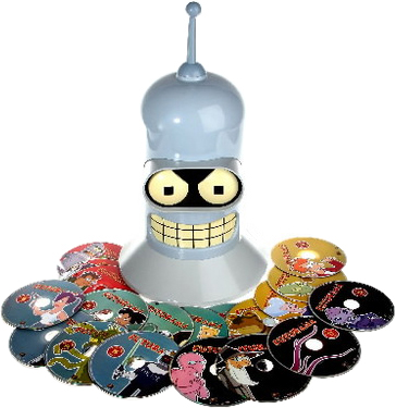 Futurama Bender Head Edition - Exploded Packshot