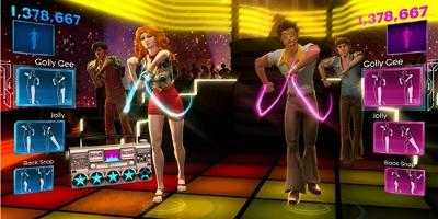 3 player dancing