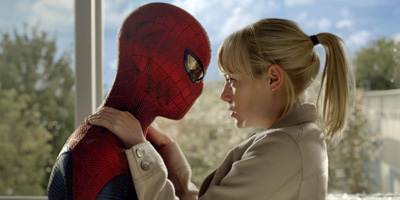 spider-man kiss