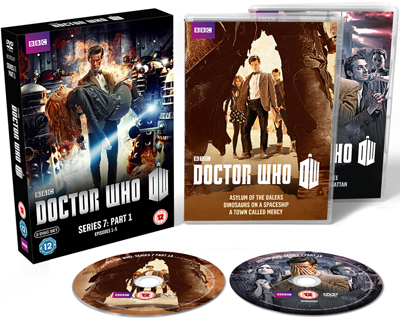 Doctor Who Series 7 Part 1 Exploded Packshot