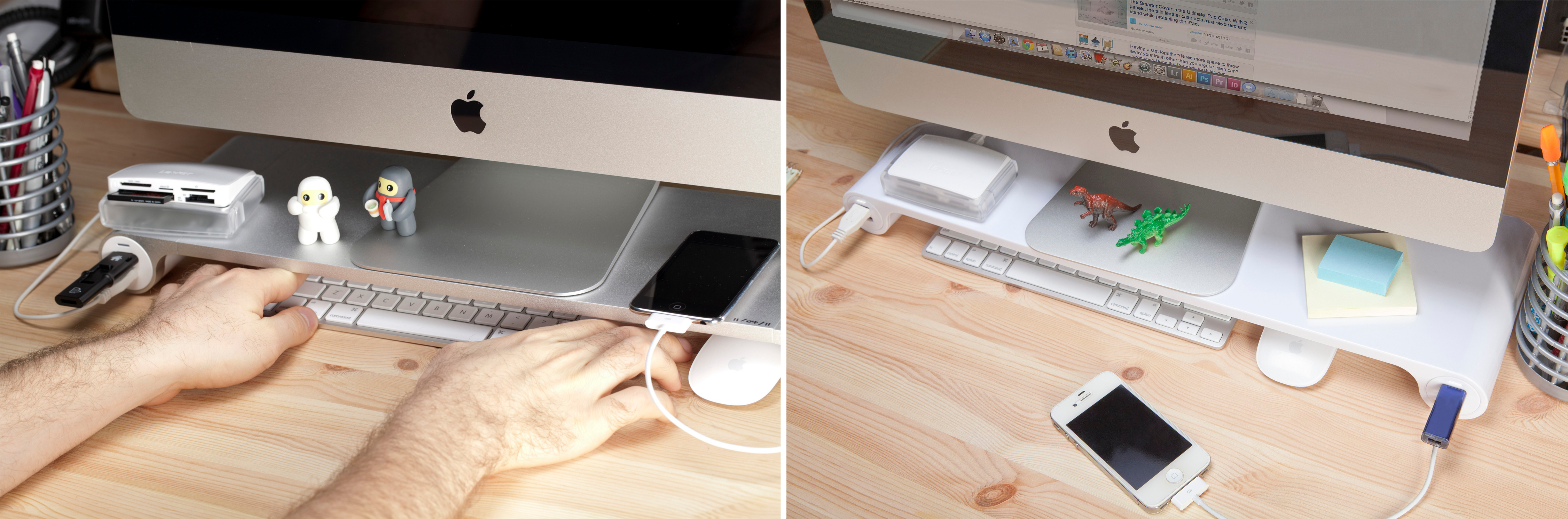pen phone me lead ipad lean tablet iphone office organiser desk holder cutout pencil j tidy white itm