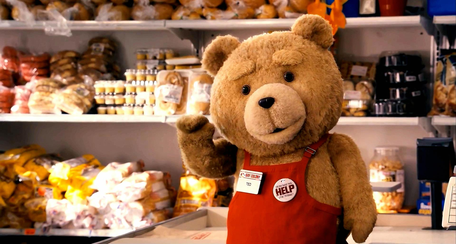 Ted in Work