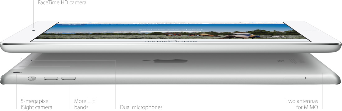 iPad Air Connections and Ports