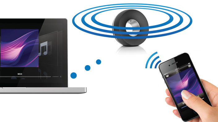 Philips DS3800W Fidelio SoundRing AirPlay Wireless Technology