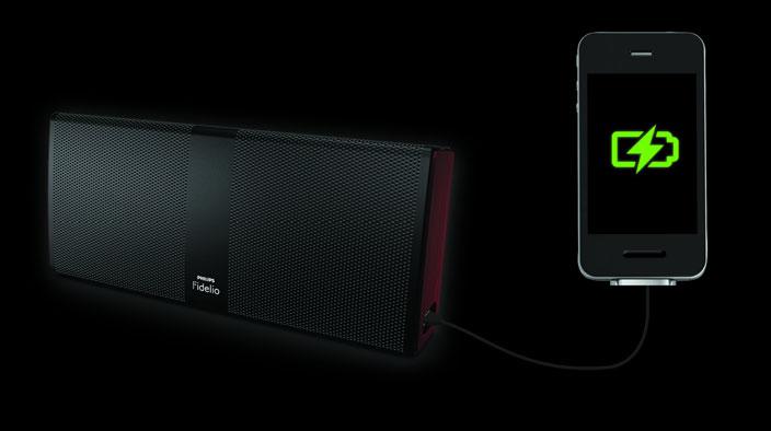 Philips Fidelio P9 Bluetooth Wireless Portable Speaker USB Port