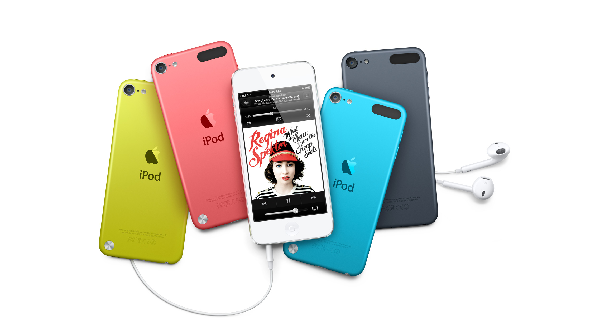iPod touch 5th Generation Spread