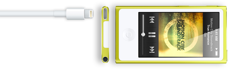 iPod Nano 7th Generation Lighnting Connection