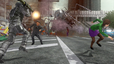 Earth Defence Force screenshot #3