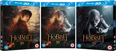 The Hobbit - Lenticular Packshot