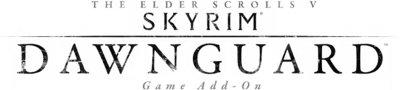 The Elder Scrolls V Skyrim: Dawnguard logo