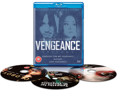 Vengeance Trilogy Exploded Packshot