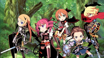 Etrian Odyssey IV: Legends Of The Titan screenshot #2