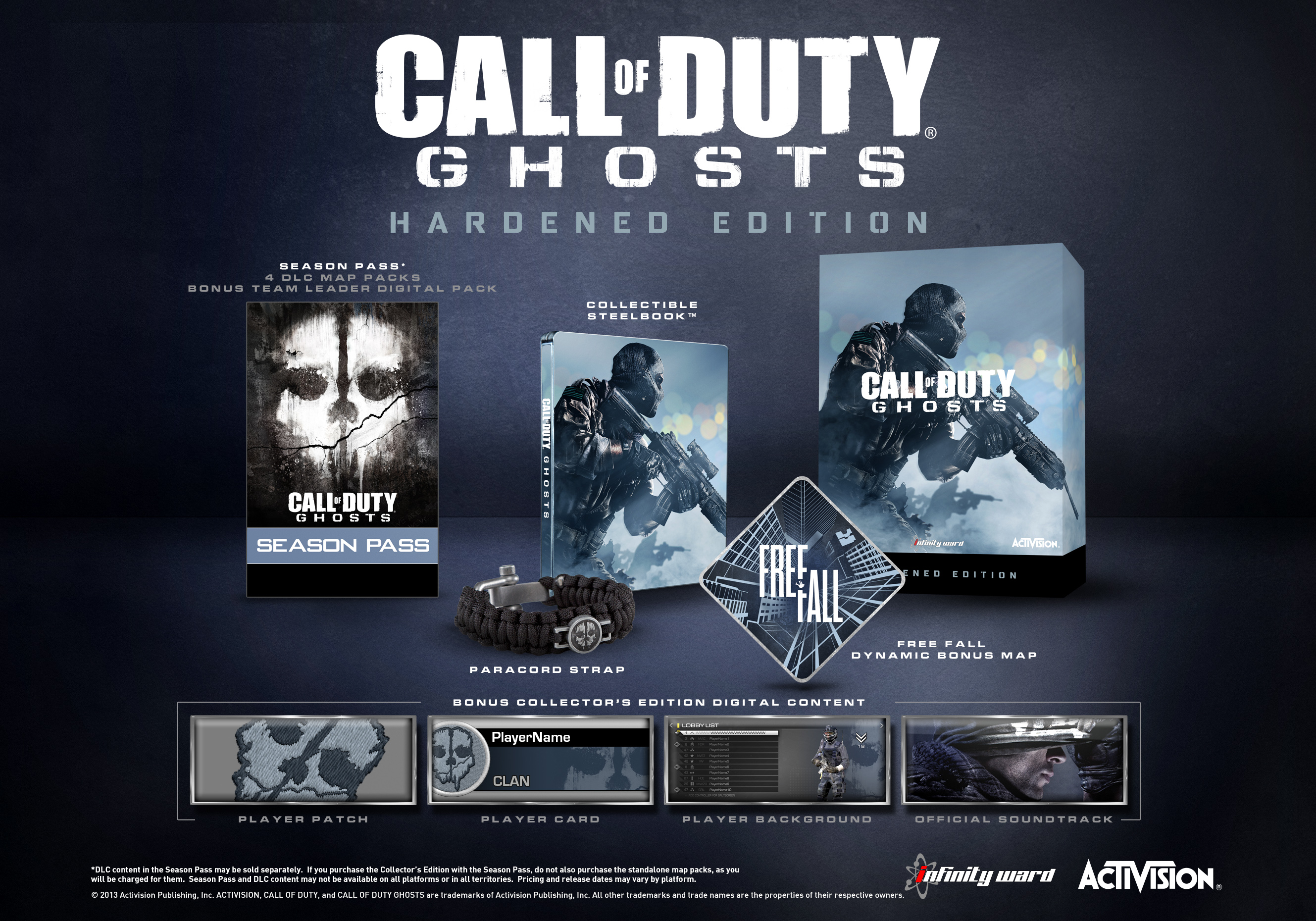 Call of Duty: Ghosts - Hardened Edition PS3 | Zavvi Call Of Duty Ghost Maps List on