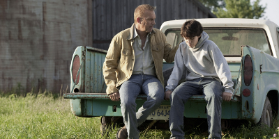 Jonathan Kent and Boy Sat on Truck
