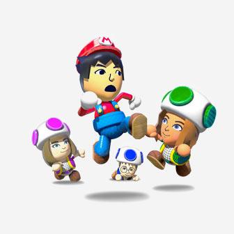 the mario gang