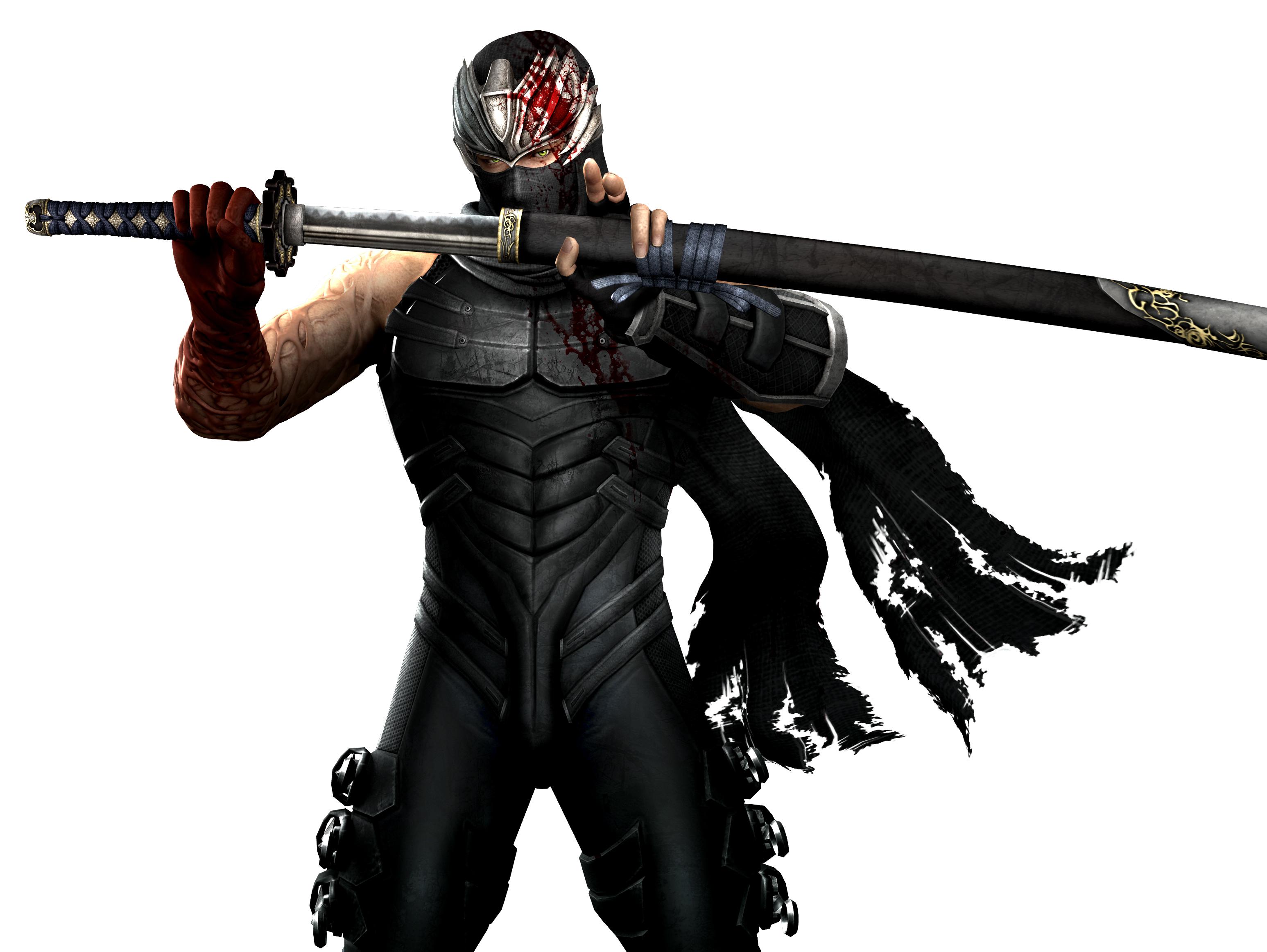 ninja dressed in black
