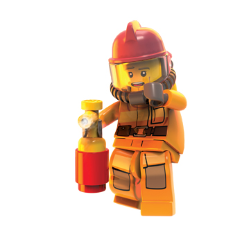 lego fireman