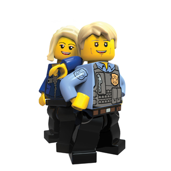 lego police officers