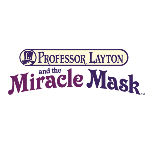 professor layton and the miricale mask logo