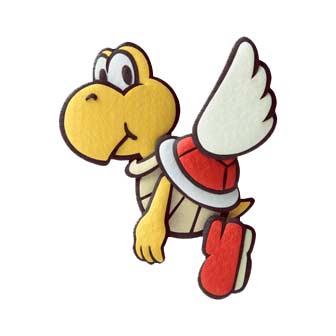 yellow yoshi flying