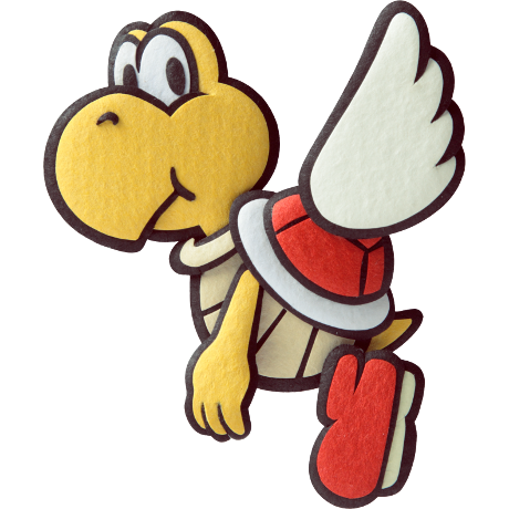 yellow yoshi flying