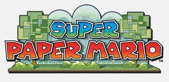 super paper mario logo