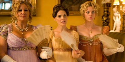 Jane Hayes, Miss Elizabeth Charming and Lady Amelia Heartwright sat down