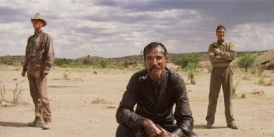 Daniel Plainview and Two Other Men