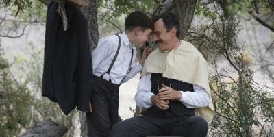 Daniel Plainview and Child