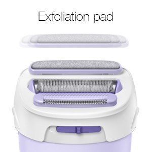 Shave, trim and exfoliate. All in one.
