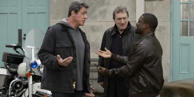 Henry 'Razor' Sharp and Billy 'The Kid' McDonnen Talking to Dante Slate, Jr.