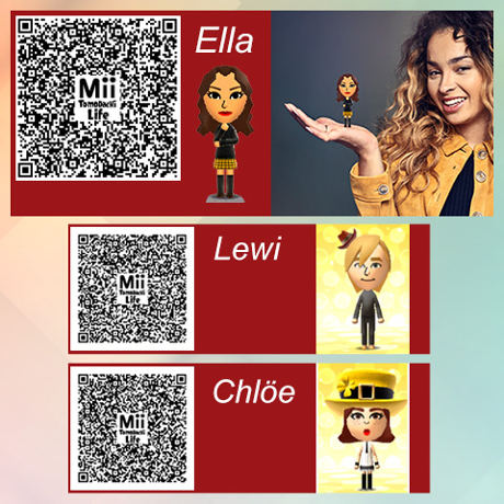 QR Code for Tomodachi Life