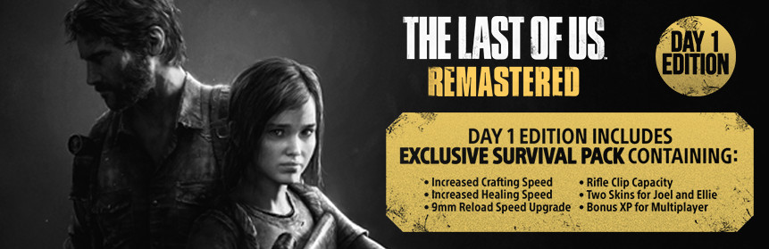 The Last Of Us Remastered Day Edition PS Zavvicom - Last of us map pack